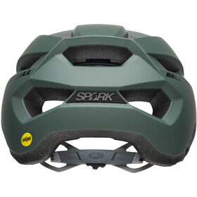 Bell Spark MIPS Casco, matte dark green/black